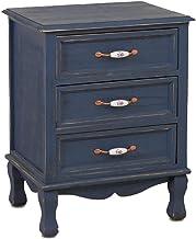 Bedside Cabinet Bedroom Storage Cabinet Solid Wood Lockers (Color : White)