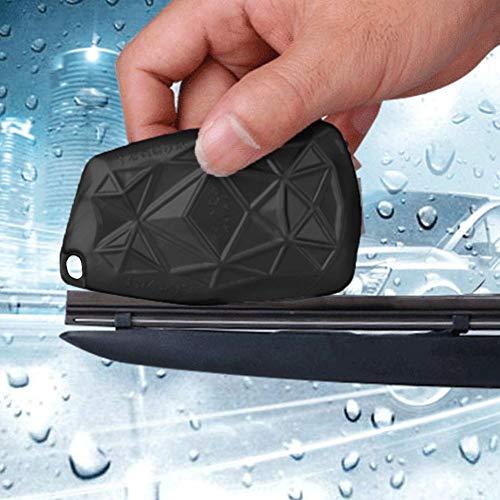 Welltobuy Herramienta de reparación de limpiaparabrisas de Coche Parabrisas Reutilizable Universal Limpiador de limpiaparabrisas de Limpieza Negro