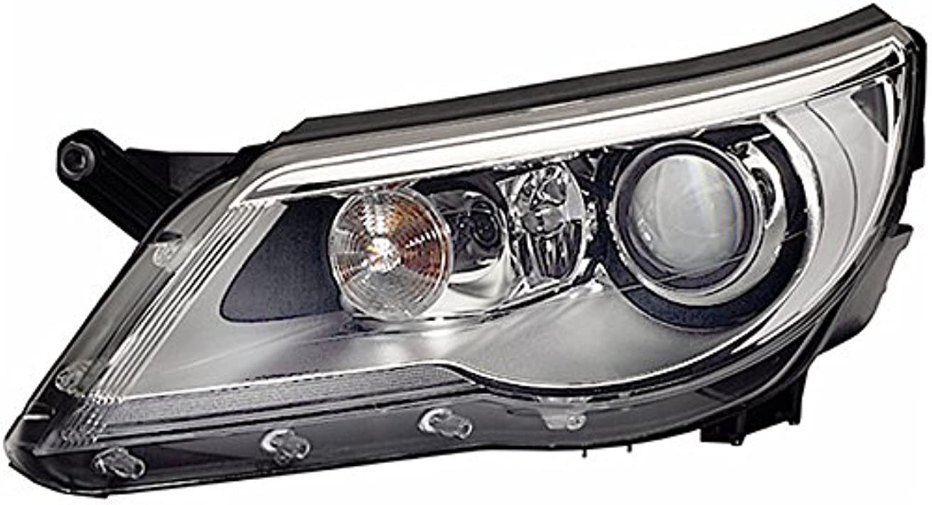 HELLA 1ZS 009 549-221 Bi-Xenon Headlight, Right, Without bend lighting, with motor for headlamp levelling