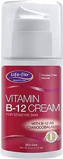 Life-Flo Vitamin B-12 Cream For Sensitive Skin | Soothes & Moisturizes | Fragrance-Free | 4oz