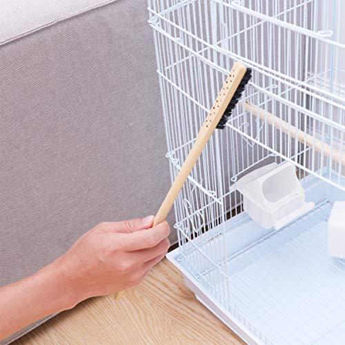 POPETPOP Pet Cleaning Brush Bird Cage Cleaning Tool Handle Long Cleaning Brush Pet Cage Accessories Bird Supplies for Pet Bird Small Animal