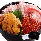 プレゼント ギフト 贈答用 海鮮 魚 まぐろ 本鮪大トロ 無添加うに 醤油漬けいくら ねぎとろ 海鮮四色丼 海の幸4品セット 3~4人前