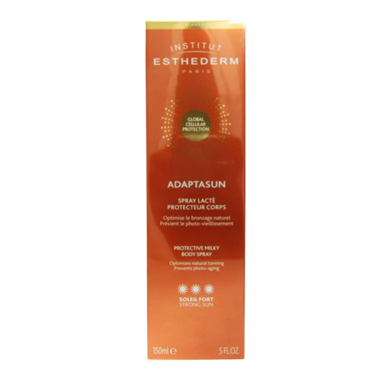 Institut Esthederm Adaptasun Protective Milky Body Spray Strong Sun 150ml [並行輸入品]