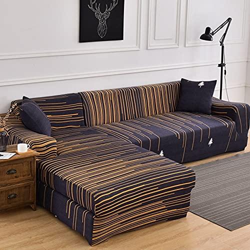 Fundas de sofá elásticas para Sala de Estar Funda de sofá elástica para sillón Funda para sofá Chaise Lounge A20 1 Plaza