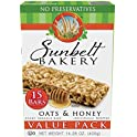 15-Count Sunbelt Bakery Oats and Honey Chewy Granola Bars Value Pack