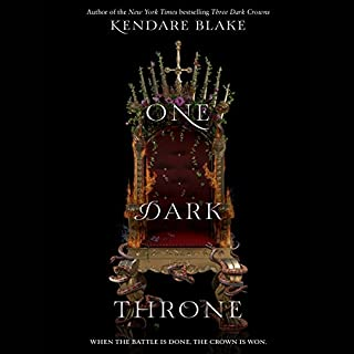 One Dark Throne                   Written by:                                                                                                                                 Kendare Blake                               Narrated by:                                                                                                                                 Amy Landon                      Length: 11 hrs and 6 mins     17 ratings     Overall 3.9