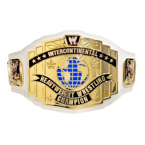 WWE weißes INTERCONTINENTAL CHAMPIONSHIP Replik Titel Gürtel