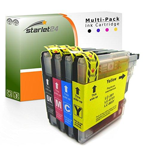 Cartuchos de tinta compatibles Brother LC-985