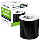 Future Way HEPA Filter PECO Compatible with Molekule Air Mini and Air Mini+ Air Purifier, 1 Pack