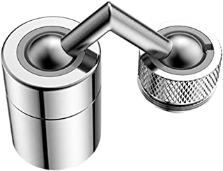 LUCKYYL Universal Splash Filter Faucet 720 Rotate Water Outlet Faucet, Spray per lavello con spruzzatore esteso, Comodo pe...