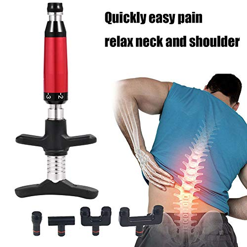 Fantastic Deal! Back Massage Tool Portable Chiropractic Adjustment Kit Spine Therapy for Adjust Vert...
