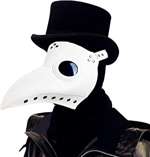 plague doctor white mask