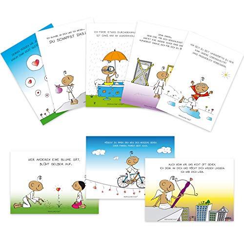 DER KLEINE YOGI: 8er Postkartenset - NEU