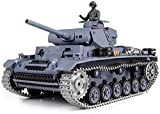 QVVQ Mini RC Tank with USB Charger Cable Remote Control Panzer Tank 1:16