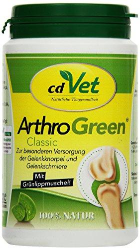 cdVet Naturprodukte ArthroGreen Classic 165g - für eine optimale Funktion der Gelenke und des Bewegungsapparates - optimale Versorgung mit Vitaminen - Bewegungsfreude - Stärkung - Vitamine -