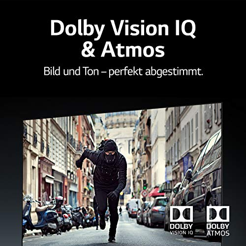 LG OLED55CX9LA 139 cm (55 Zoll) OLED Fernseher (4K, Dual Triple Tuner (DVB-T2/T,-C,-S2/S), Dolby Vision, Dolby Atmos, Cinema HDR, 100 Hz, Smart TV) [Modelljahr 2020] - 7