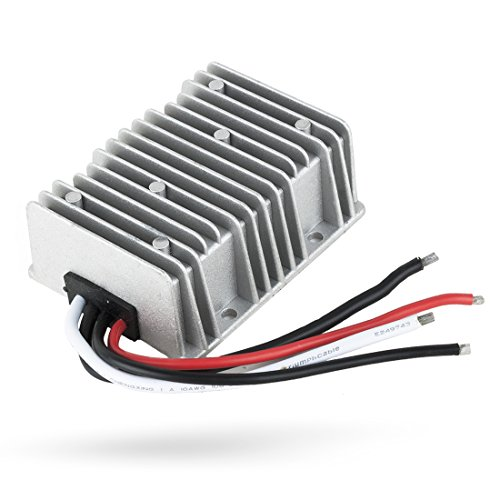 Price comparison product image uxcell New BIG-Size Voltage Converter Regulator DC / DC DC 48V Step-Down to DC 12V 30A 360W Buck Transformer Waterproof