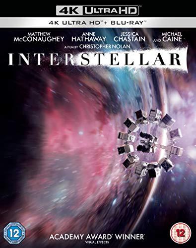 Interstellar [4K Ultra HD] [2014] [Blu-ray] [2017] [Region A & B & C]