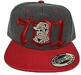 El Chapo Guzmán 701 y la cara del Chapo hat Dark Gray red Snapback