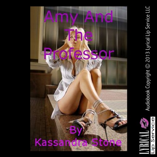 Amy and the Professor audiobook cover art