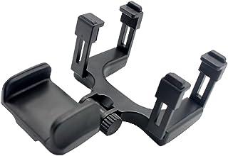Kesoto Suporte universal para celular com espelho retrovisor de carro multifuncional preto