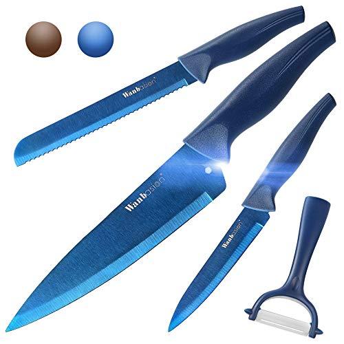 Wanbasion 4 Piece Professional Kitchen Knife