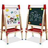 Best Kids Easels - Kids Easel with Paper Roll Double-Sided Whiteboard Review