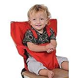 Uni Meilleur Bébé Portable Chaise Haute Voyage Sièges Housse de Sécurité pour Tout-Petits Chaise Haute Sangle Infantile...