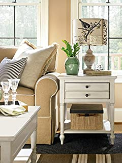 Universal Furniture 987805 Summer Hill End Table, Cotton