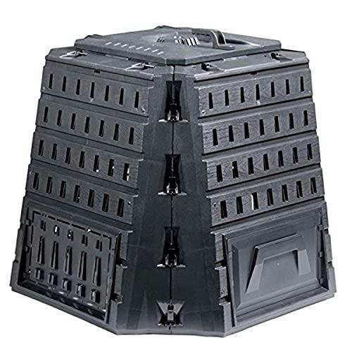 Prosper Plast Ikbi500 C-s411 101.8 x 101.8 x 84.4 cm Biocompo Composteur – Noir (4 pièces)
