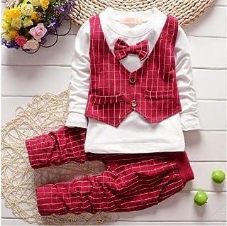مجموعات الملابس من TATUE-Clothing - مجموعة ملابس أطفال ربيع بيكولا 2020 أزياء جديدة للأطفال بنين قميص + معطف + سروال 3 قطع...