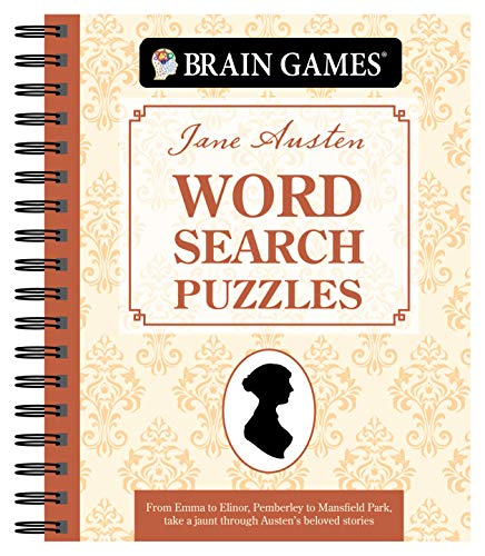 Brain Games - Jane Austen Word Search Puzzles (#2), 2: How Well Do You Know These Timeless Classics?