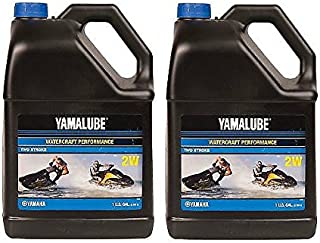 Yamaha Yamalube 2W 2-Stroke Waverunner Performance Oil - 2 Gallons of LUB-2STRK-W1-04