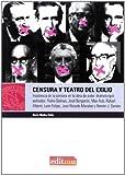 Censura y Teatro del Exilio: Incidencia de la censura en la obra de siete dramaturgos exiliados: Pedro Salinas, José Bergamín, Max Aub, Rafael ... José Ricardo Morales y Ramón J. Sender