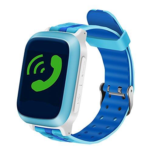Intelligente Uhrknopfart Kinderarmband GPS + SOS-Anrufsucher Anti-verlorene Unterstützung SIM-Karte für Android IOS