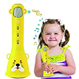 TOSING Karaoke Microphone Toys for Kids Age 3 -10 Years Old Girls,Best Birthday Gifts for 4 5 6 7 8 9 10 Years Old Teens Girls Boys Toddlers(Yellow from TOSING