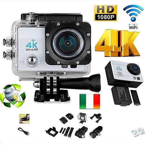 081 Store PRO Cam 4K Sport WiFi Action Camera Ultra HD 16MP VIDEOCAMERA Subacquea Q3