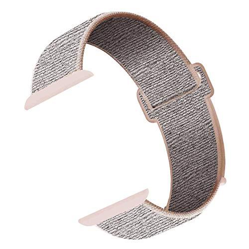 CosyZanx Kompatibel mit Apple Watch Armband 38mm 40mm 42mm 44mm,Gewobenes Nylon Sport Schlaufe Handgelenk Uhrband Ersatz Armreif Uhrenarmband für iWatch Apple Watch Series 4 3 2 1