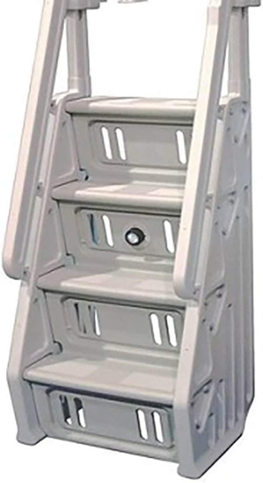 Vinyl Max 70% OFF Works A surprise price is realized Deluxe Adjustable 32 Ladder in-Pool Step Entry Inch