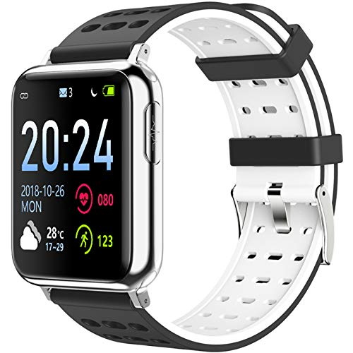 CXCF Reloj Deportivo Inteligente Multifunción Body Fitness Monitor Recordatorio De Llamada Pulsera Inteligente 55332