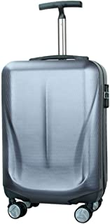 TYUIO Reaction Out Of Bounds 20-Inch Check-Size Lightweight Durable Hardshell 4-Wheel Spinner Upright Luggage (Color : Gray)