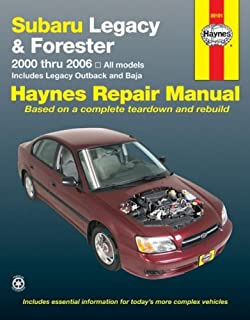 Subaru Legacy & Forester, 2000-2006 (Haynes Repair Manuals)