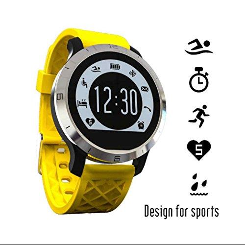 Orologio Fitness Braccialetto Sport,Pedometri GPS portatili Contapassi Monitorare il Sonno messaggio di promemoria Orologio Fitness Tracker pedometro per Android OS Smartphone