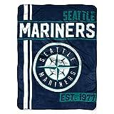 Northwest MLB Seattle Mariners Micro Raschel Throw, One Size, Multicolor