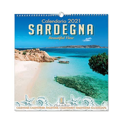 Calendario da muro Sardegna 2021 f.to 32,5 x 33,5 cm (mod.01)