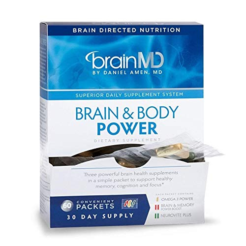 Dr Amen BrainMD Brain & Body Power - 300 Capsules - Complete...
