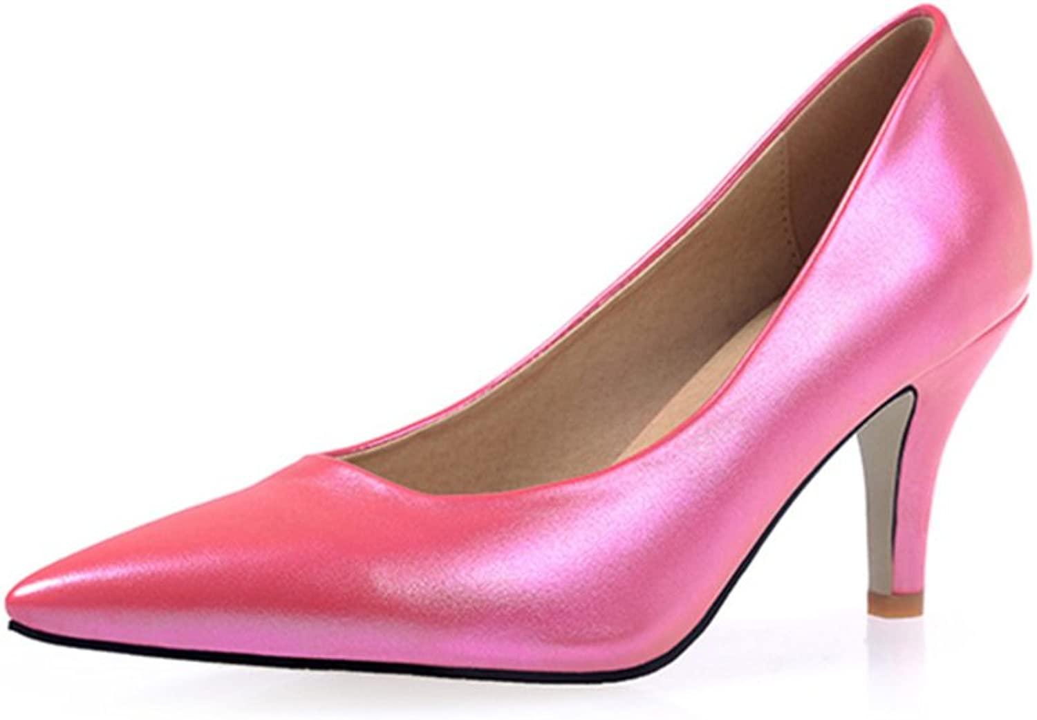 RHFDVGDS four seasons ladies high heel Stiletto pointy shoes Vocational students to work in the spring shoes