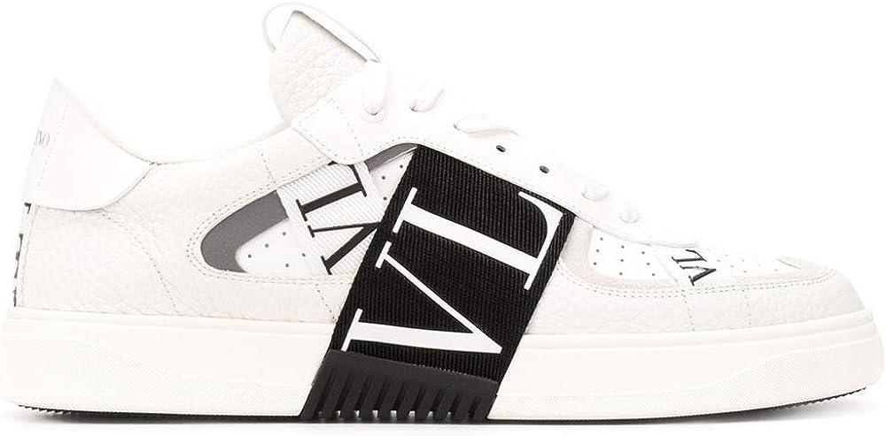 Valentino garavani luxury fashion,sneakers per uomo in vera pelle al 100 % VY2S0E02WRQ24P