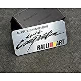 Car Styling Accessories C148 Emblem Badge Decal Sticker RALLIART Racing Motorsport MITSUBISHI LANCER PAJERO OUTLANDER ASX Galant Eclipse Spyder