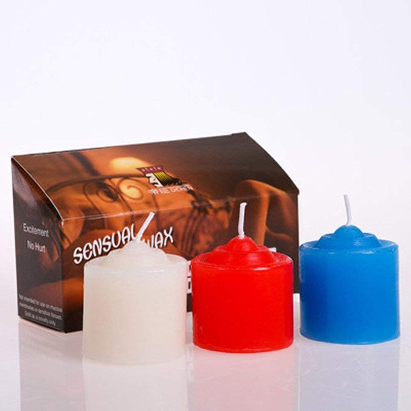 酒予感徴収三色蝋燭 低温 キャンドル